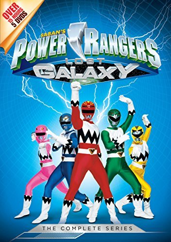 Power Rangers Lost Galaxy The Complete Series DVD