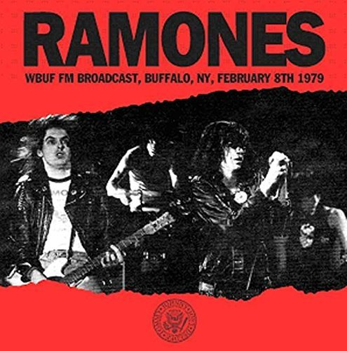 The Ramones Wbuf Fm Broadcast Buffalo Ny 2 8 79 Lp