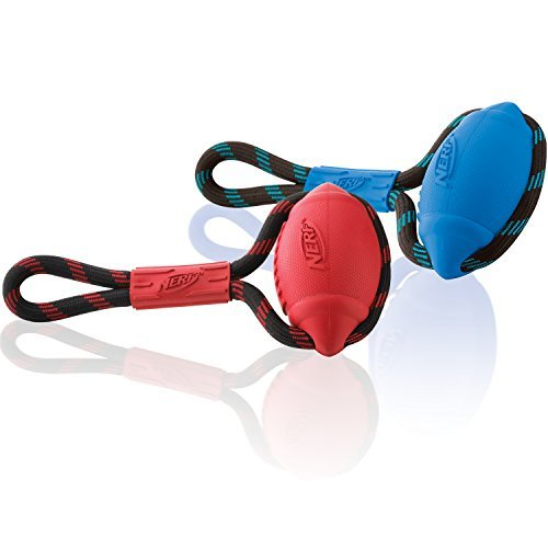 Nerf Dog Infinity Tug (pack Of 2) Blue And Red Nerf Dog Infinity Tug (pack Of 2) Blue And Red