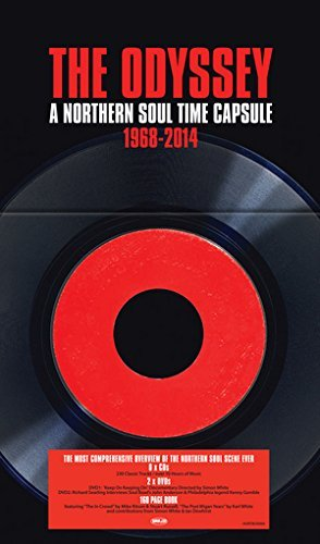Odyssey A Northern Soul Time Odyssey A Northern Soul Time Import Gbr 8 CD 2 DVD