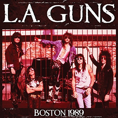 L.A. Guns Boston 1989