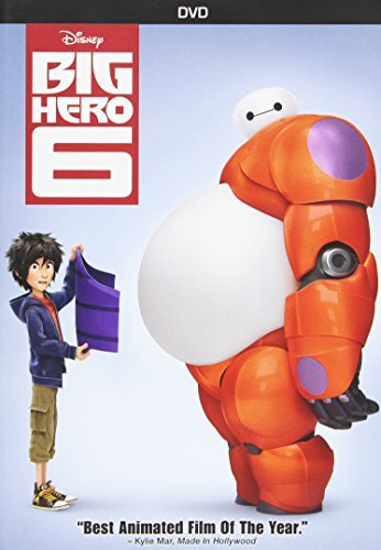 Big Hero 6 Disney DVD Pg