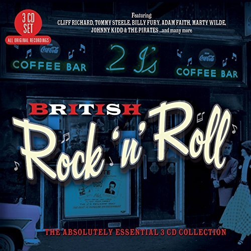British Rock 'n' Roll The Abso British Rock 'n' Roll The Abso Import Gbr 3 CD