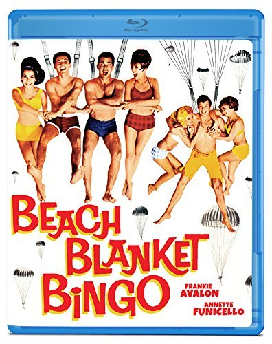 Beach Blanket Bingo Avalon Funicello Evans Rickles Blu Ray Nr