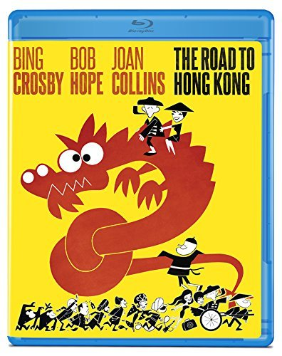 Road To Hong Kong Hope Crosby Collins Lamour Blu Ray Nr