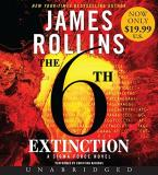 James Rollins The 6th Extinction Low Price CD A Sigma Force Novel