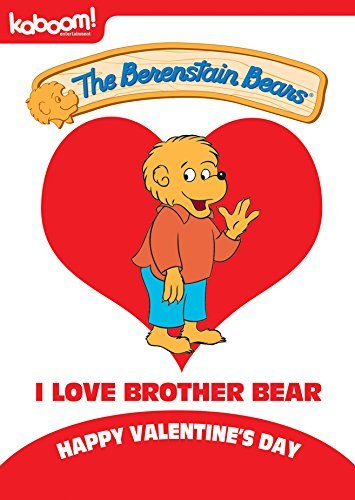 Berenstain Bears I Love Brother Bear DVD