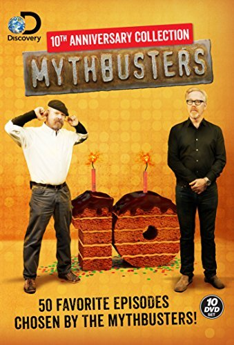 Mythbusters 10th Anniversary Collection DVD
