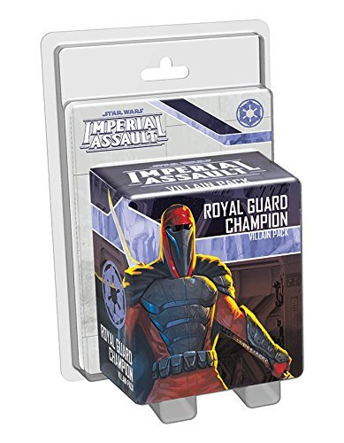 Star Wars Imperial Assault Royal Guard Champion Villain Pac