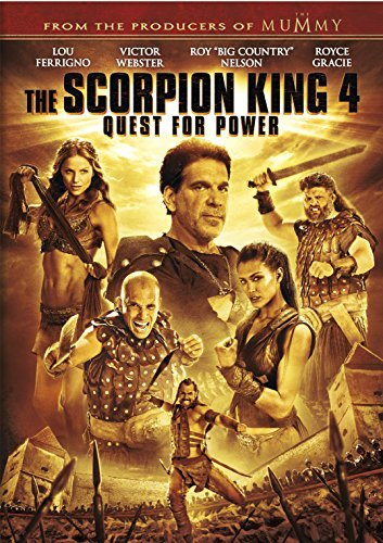 Scorpion King 4 Quest For Power Scorpion King 4 Quest For Power DVD