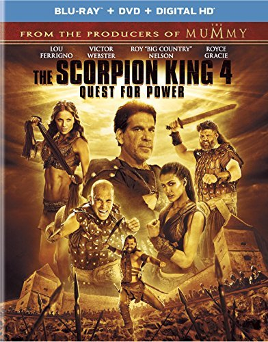Scorpion King 4 Quest For Power Scorpion King 4 Quest For Power Blu Ray
