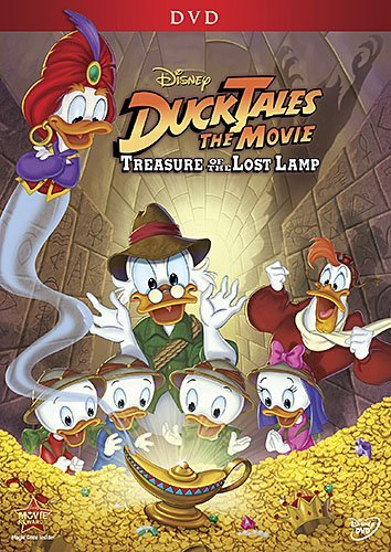 Ducktales The Movie Treasure Of The Lost Lamp Disney DVD