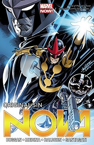Marvel Comics Nova Volume 4 Original Sin (marvel Now)