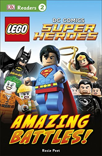 Dk Readers L2 Lego Dc Comics Super Heroes Amazing Battles!