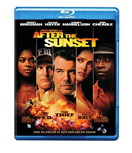 After The Sunset Brosnan Harrelson Hayek Cheadle Blu Ray Pg13