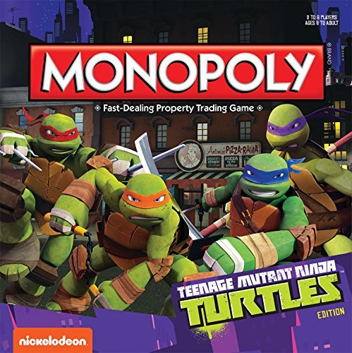 Monopoly Teenage Mutant Ninja Monopoly Teenage Mutant Ninja