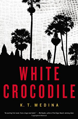 K. T. Medina White Crocodile