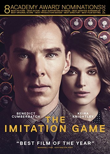 Imitation Game Cumberbatch Knightly Goode DVD Pg13