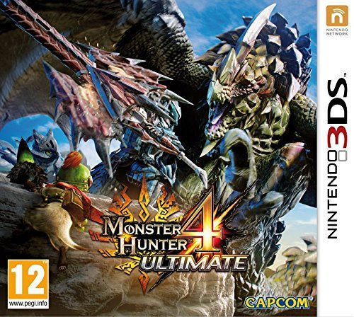 Nintendo 3ds Monster Hunter 4 Ultimate