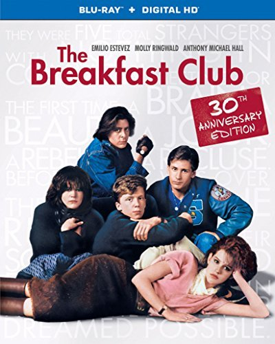 Breakfast Club Ringwald Estevez Hall Nelson Blu Ray R