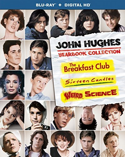 John Hughes Yearbook Collection Breakfast Club Sixteen Candles Weird Science Blu Ray