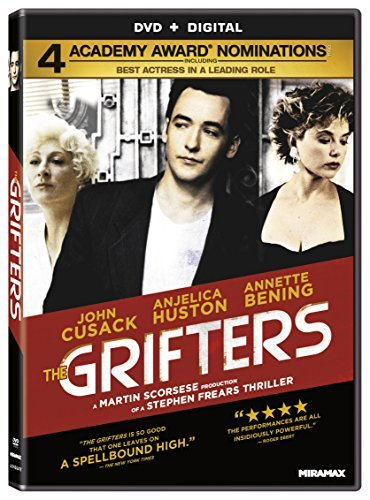 Grifters Huston Cusack Bening Hingle DVD R