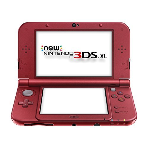 Nin3ds System Xl Red Redesign