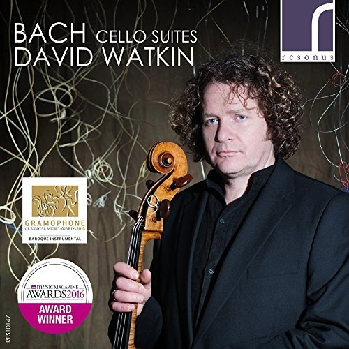 Bach J.S. Watkin David Cello Suites