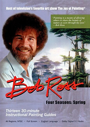 Bob Ross The Joy Of Painting Spring Collection 3 DVD