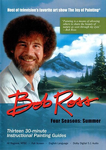 Bob Ross The Joy Of Painting Summer Collection 3 DVD