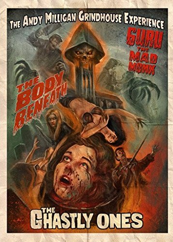 Andy Milligan Grindhouse Experience Ghastly Ones Guru The Mad Monk Body Beneath DVD R