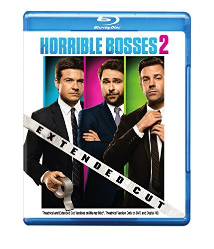 Horrible Bosses 2 Bateman Sudeikis Day Aniston Foxx Pine Waltz Blu Ray DVD Uv R