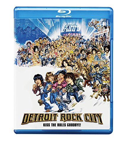 Detroit Rock City Furlong Huntington Andrews Blu Ray R