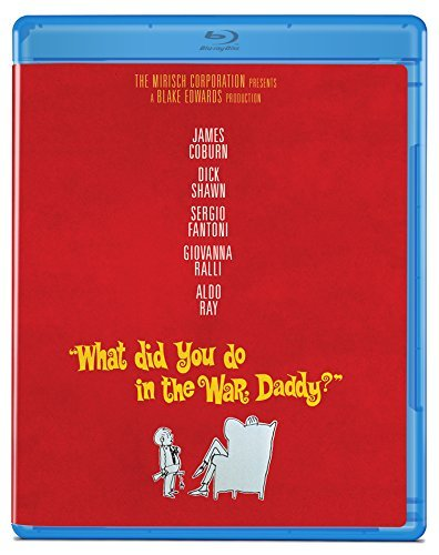 What Did You Do In The War Daddy? Coburn Shawn Fantoni Blu Ray Nr