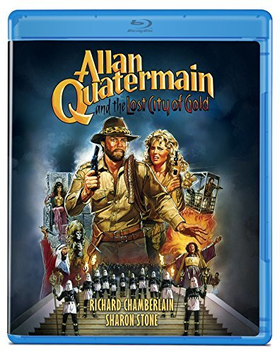 Allan Quatermain & The Lost City Of Gold Chamberlain Stone Jones Blu Ray Pg