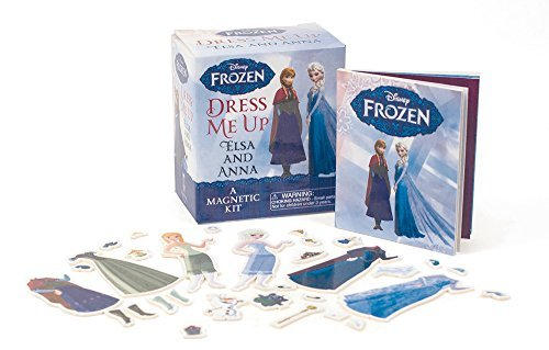 Running Press Frozen Dress Me Up Elsa And Anna A Magnetic Kit
