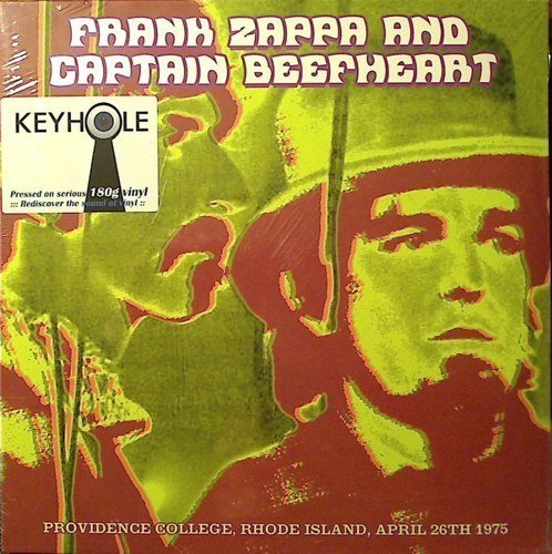 Zappa Frank & Captain Beefheart Providence College Rhode Island April 26th 1975 3lp