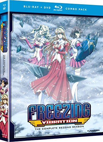 Freezing Vibration Complete Series Blu Ray DVD Nr