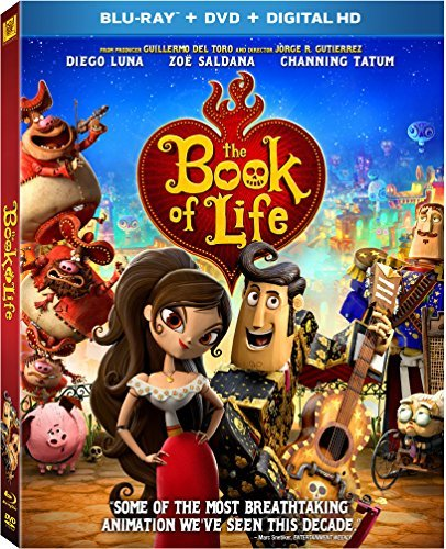 The Book Of Life The Book Of Life Blu Ray DVD Dc Pg