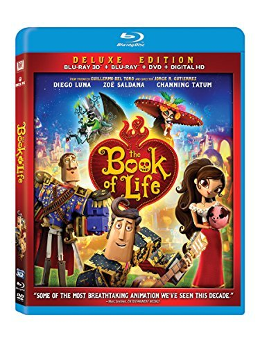 The Book Of Life The Book Of Life 3d Blu Ray DVD Dc Pg
