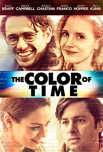 Color Of Time Franco Kunis Chastain Braff Campbell DVD R