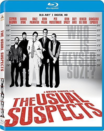 Usual Suspects Baldwin Byrne Palminteri Polla Blu Ray 20th Anniversary Edition R