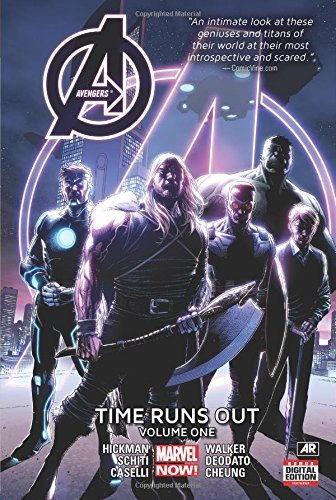 Jonathan Hickman Time Runs Out