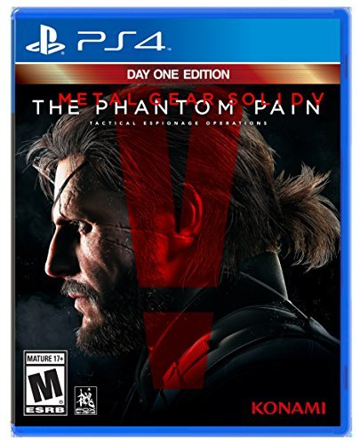 Ps4 Metal Gear Solid Phantom Pain