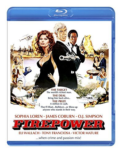 Fire Power Loren Coburn Simpson Blu Ray R