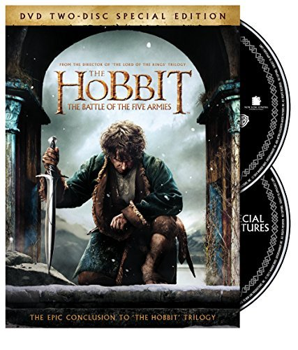 Hobbit Battle Of The Five Armies Mckellen Freeman Armitage DVD Dc Pg13