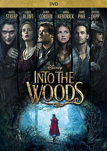 Into The Woods Streep Kendrick Pine Blunt DVD