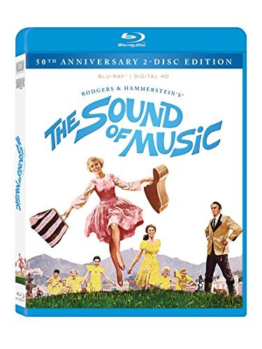 Sound Of Music Andrews Plummer Blu Ray 50th Anniversary Edition