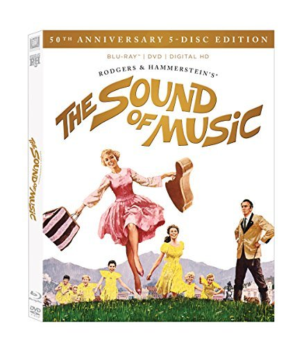 Sound Of Music Andrews Plummer Blu Ray DVD Dc 50th Anniversary Edition