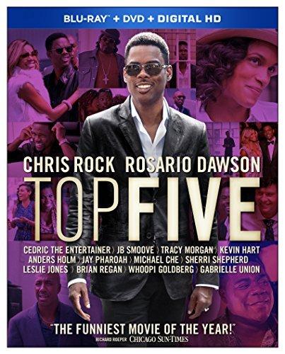 Top Five Rock Dawson Union Blu Ray DVD Dc R